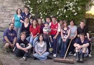 In the Church garden
