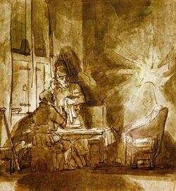 Rembrandt's 'Jesus' Disappearance From Emmaus' (1648–49)